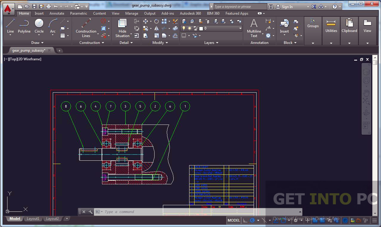 Autodesk AutoCAD Mechanical 2017 32 64 Bit ISO Free Download