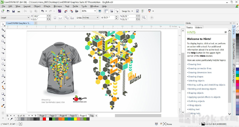 CorelDRAW Graphic Suite x8 Direct Link Download