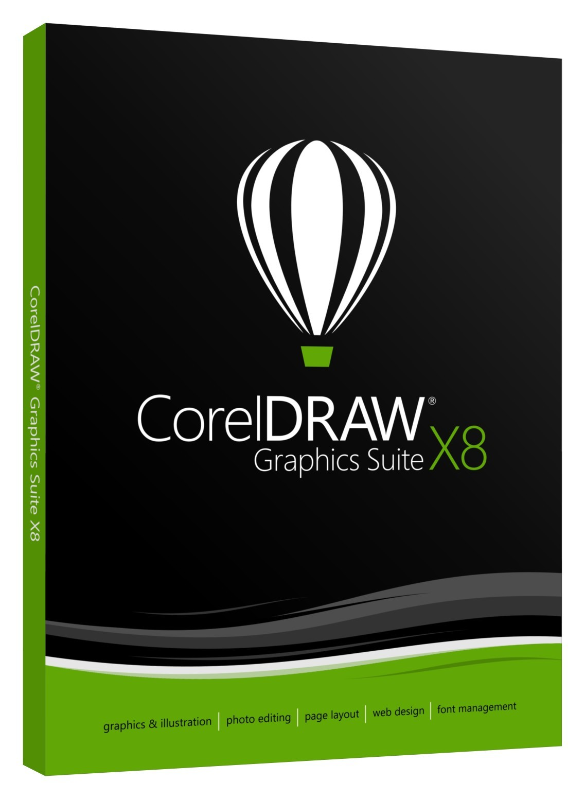 CorelDRAW Graphic Suite x8 ISO Multilingual 32 64 Bit Download