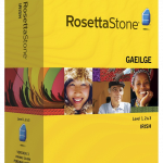 Rosetta Stone Irish with Audio Companion Free Download