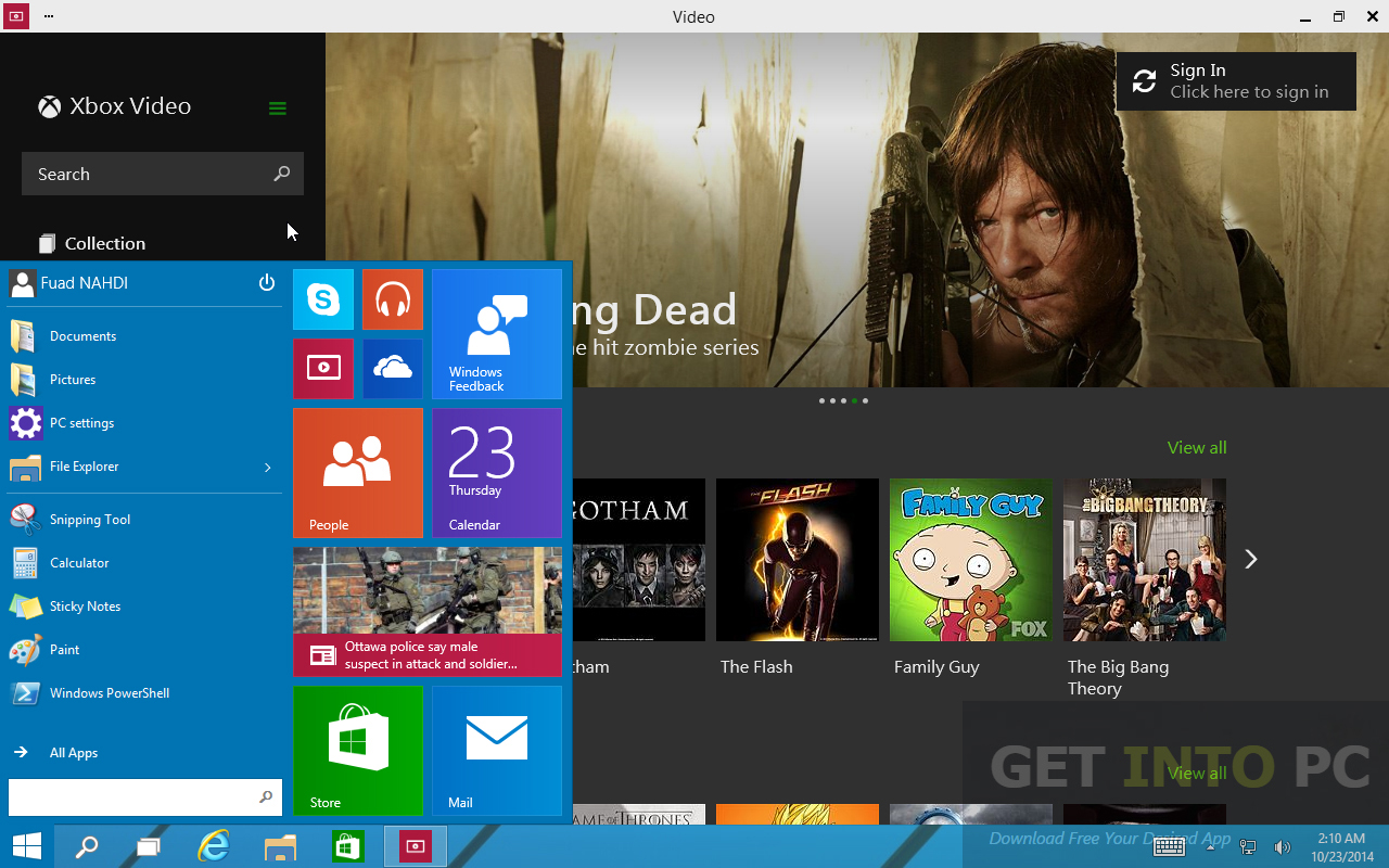 Windows 10 Pro Core x64 v1511 Apr 2016 ISO Direct Link Download