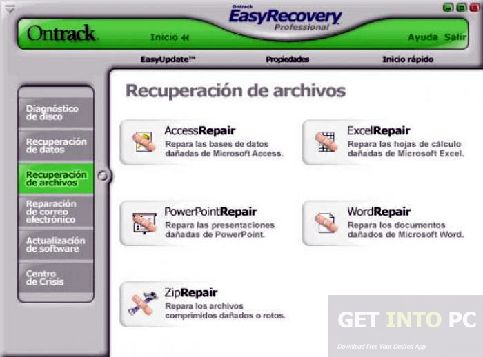download easy recovery essentials full