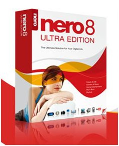 Nero 8 Ultra Edition 8.3.2.1 Multilingual Free Download
