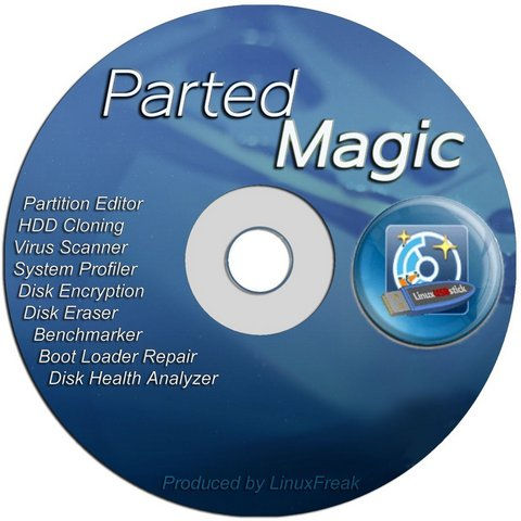 parted magic iso