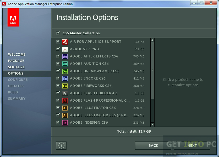 Adobe cs6 master collection download em portugues