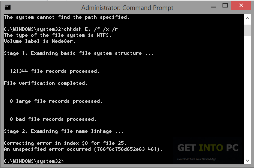Corrupted Disk Fixer Portable Offline Installer Download