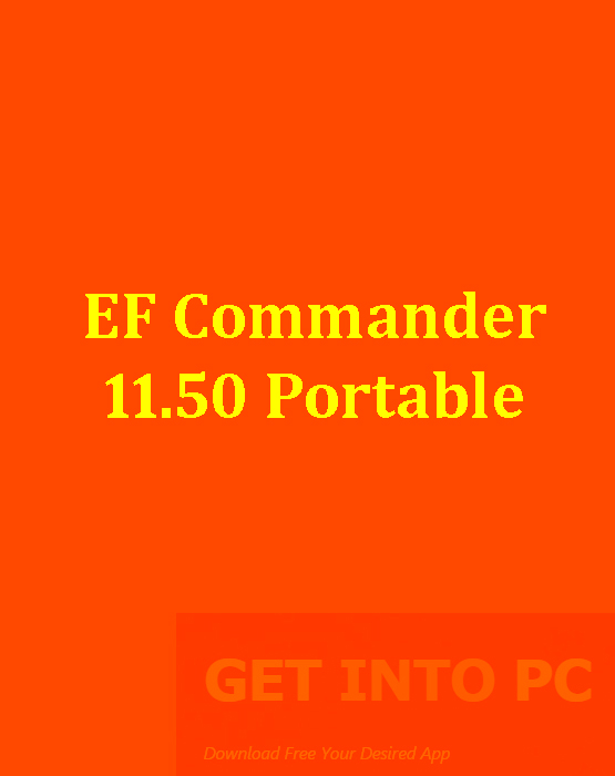 EF Commander 11.50 Portable Free Download