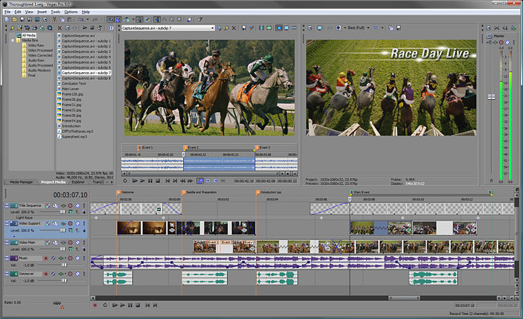 Sony Vegas Free Download Video Editing Software