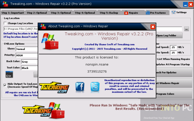 Windows Repair Pro All In One Portable Direct Link Download