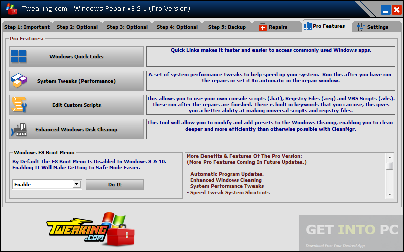 Windows Repair Pro All In One Portable Free Download - Get