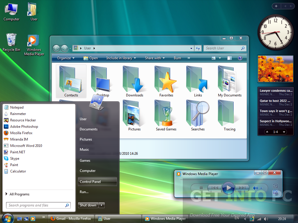 Windows Vista All in One ISO Offline Installer Download