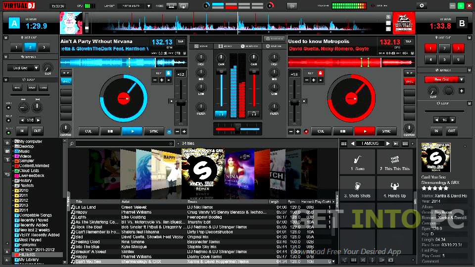 Virtual dj home free edition 7. 0. 5 b371 full screenshot virtual.