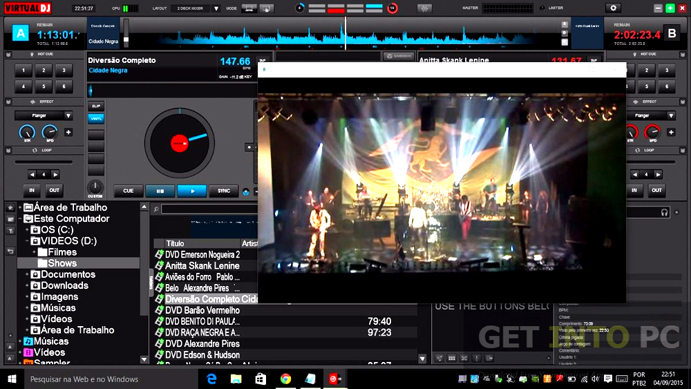 Atomix VirtualDJ Pro Infinity Portable Offline Installer Download