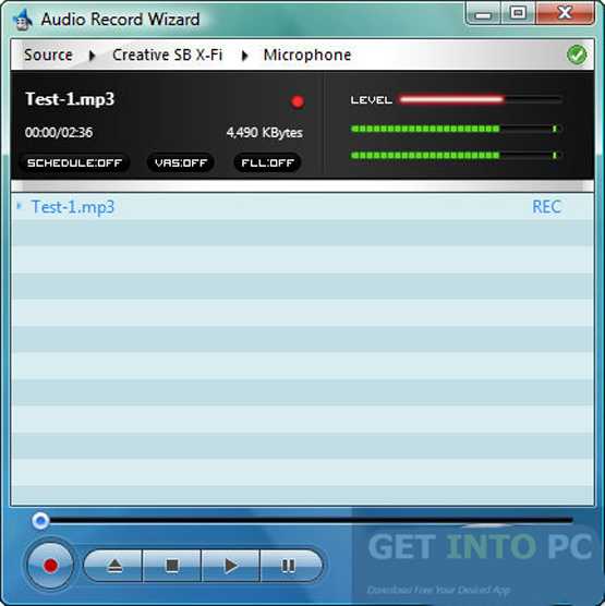Audio Record Wizard Direct Link Download