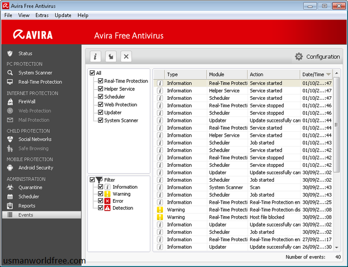 Avira Antivirus Pro v15.0.18.354 Lifetime Direct Link Download