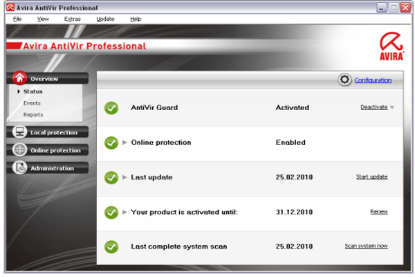 Avira Antivirus Pro v15.0.18.354 Lifetime Offline Installer Download