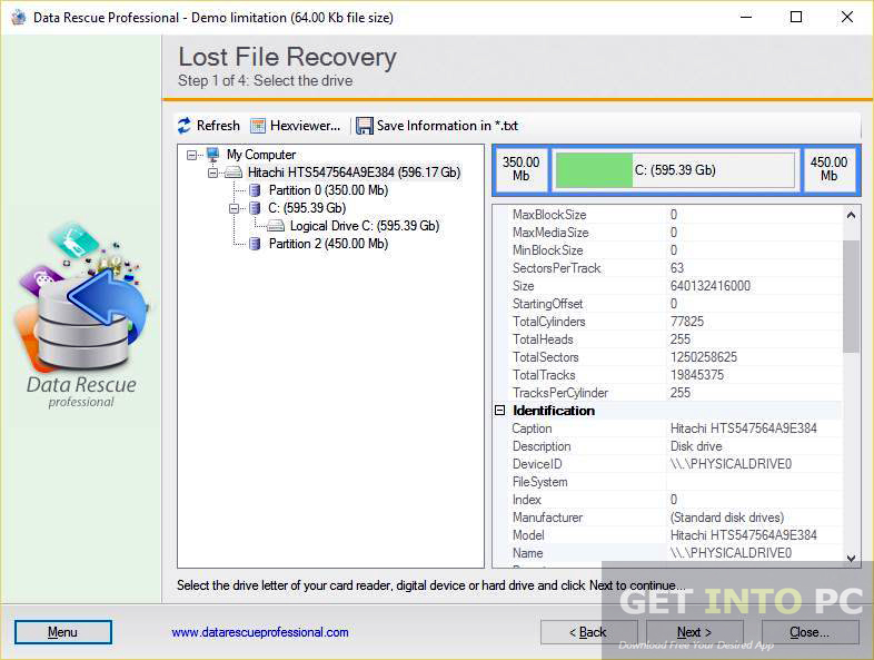 Data Rescue Professional Portable Direct Link Download