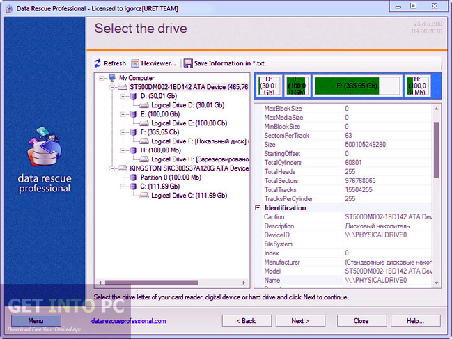 Data Rescue Professional Portable Latest Version Download