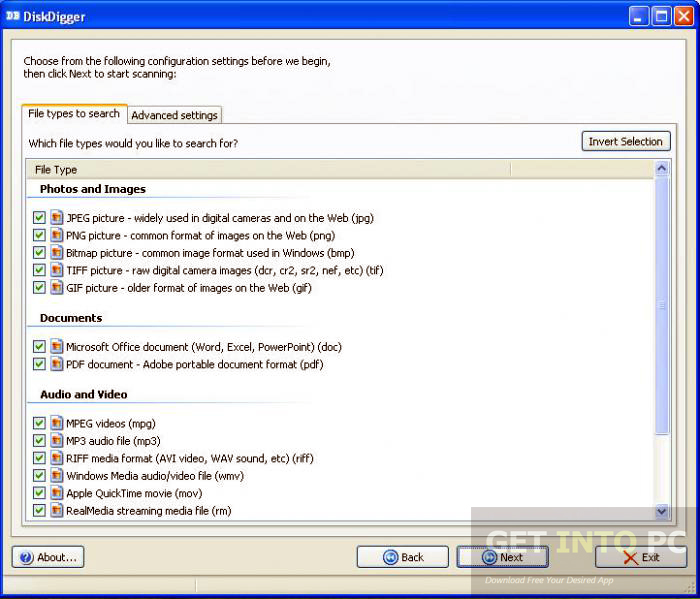 DiskDigger Portable Offline Installer Download