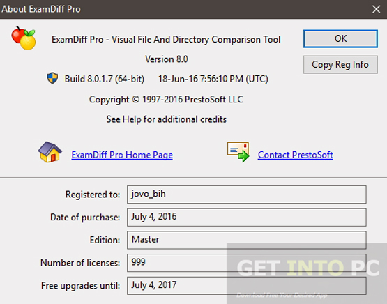 ExamDiff Pro Master Edition Portable Latest Version Download