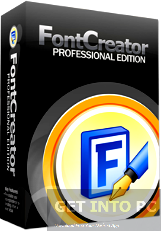 High-Logic FontCreator Professional Portable Free Download