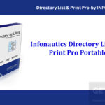 Infonautics Directory List and Print Pro Portable Free Download