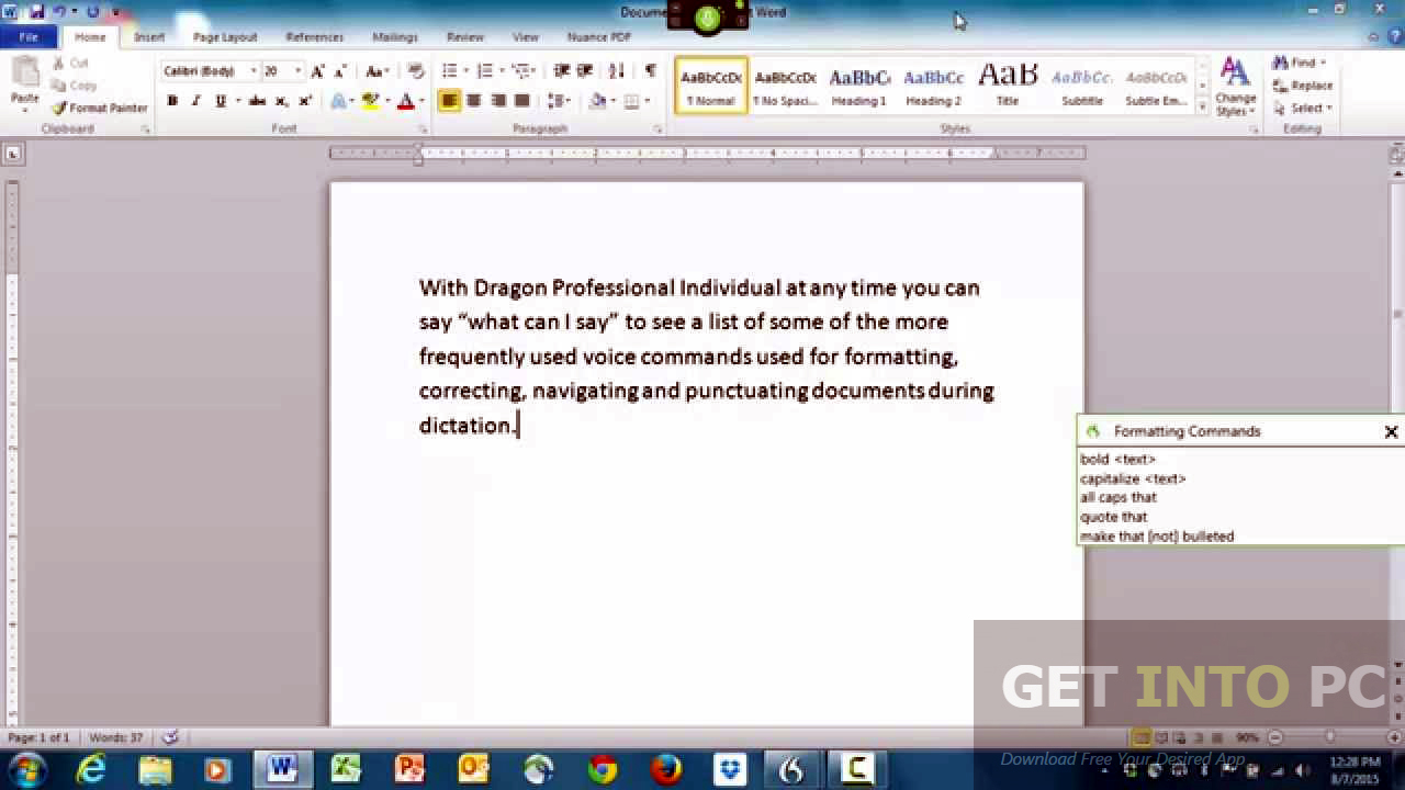 Nuance Dragon Professional Individual 14 Latest Version Download