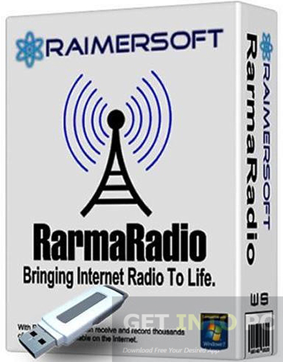 RarmaRadio Pro Multilingual Portable Free Download
