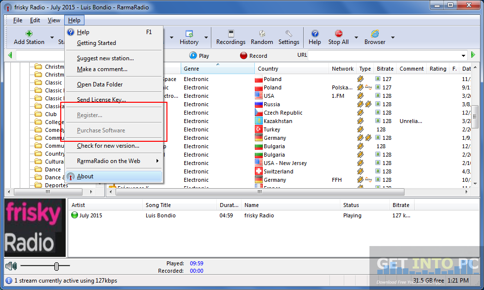 RarmaRadio Pro Multilingual Portable Offline Installer Download