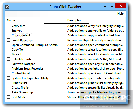 Right Click Enhancer Professional Portable Latest Version Download