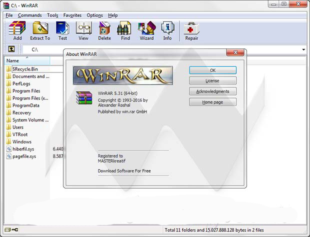 WinRAR 5.31 Final Latest Version Download.