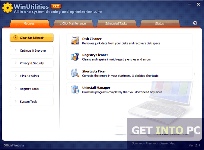 WinUtilities Professional Edition Portable Direct Link Download