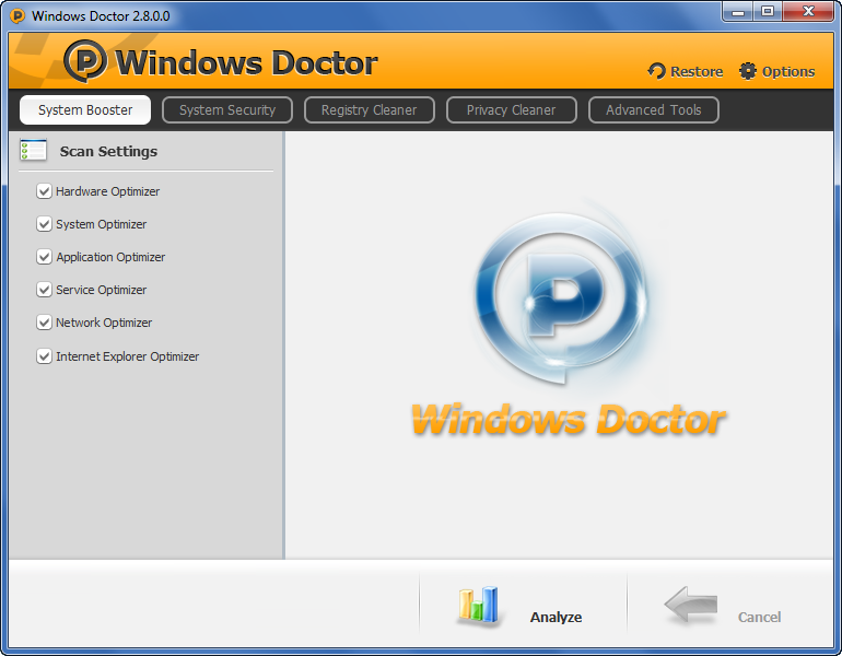 Windows Doctor 2.9 Portable Free Download