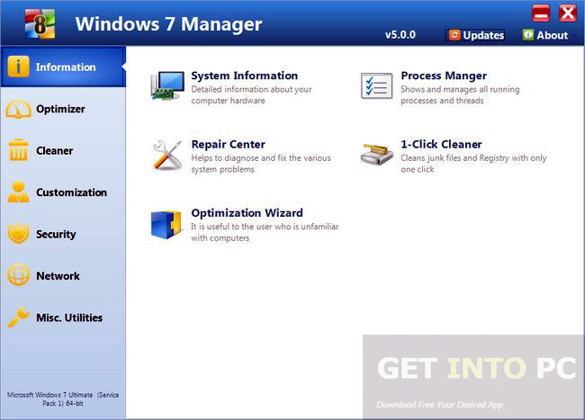 Yamicsoft Windows 7 Manager Portable Download For Free
