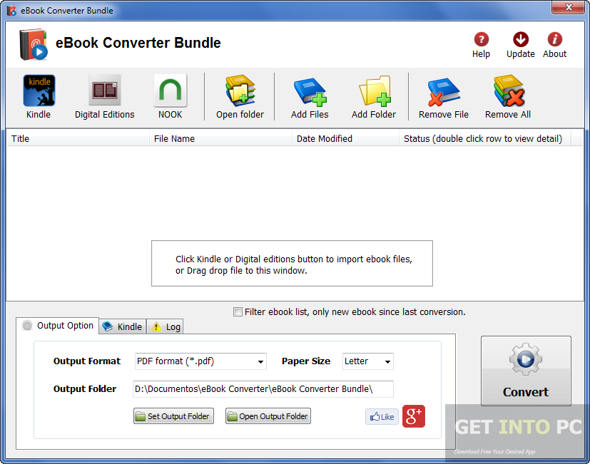 eBook Converter Bundle Offline Installer Download