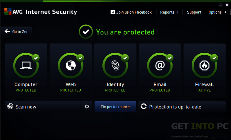 Avg internet security 9.0.851.3009 final incl key
