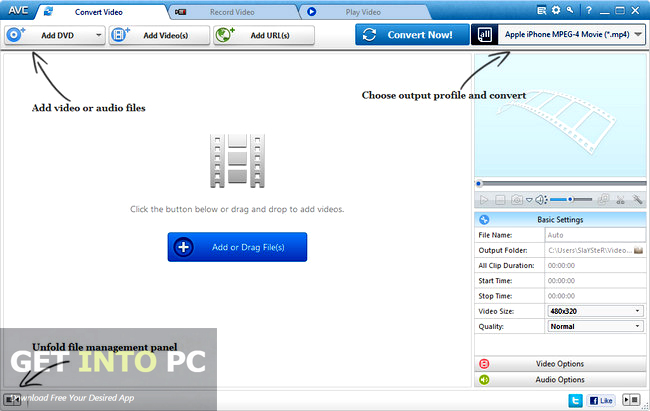 Any Video Converter Ultimate 5.9.9 Portable Direct Link Download