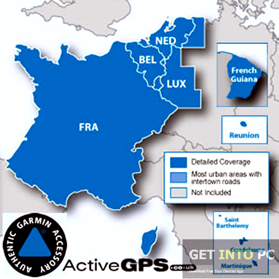 Garmin City Navigator BeNeLux France NT 2016 Free Download