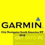 Garmin City Navigator South America NT 2016 Free Download