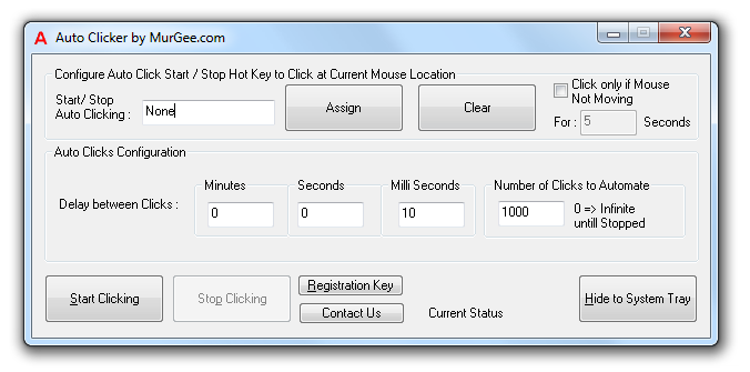 MurGee Auto Clicker Latest Version Download