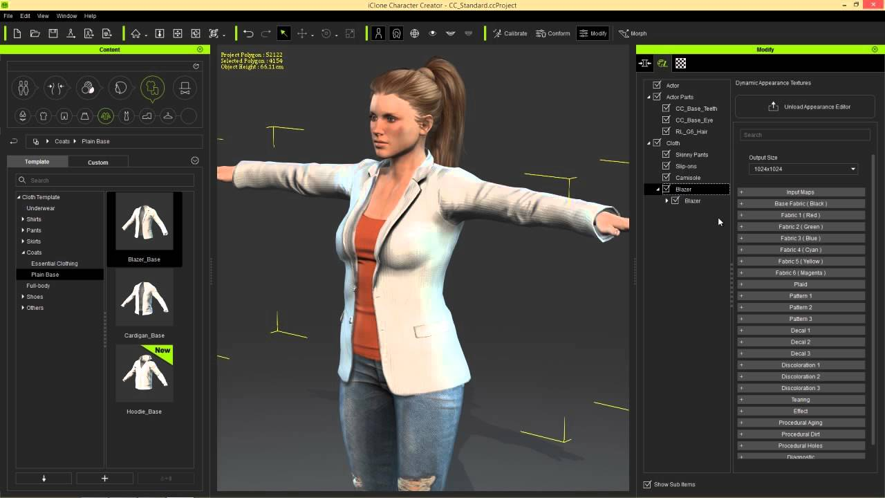 Character Design Download : Reallusion iclone character creator with content pack free