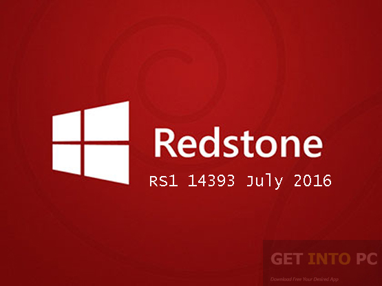 Windows 10 Pro 32 Redstone RS1 14393 July 2016 Download