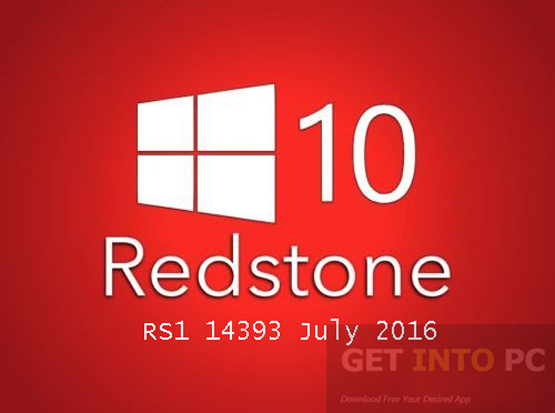 Windows 10 Pro 64 Redstone RS1 14393 July 2016 Download