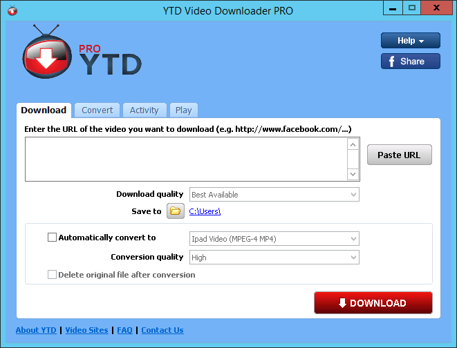 YTD Downloader Pro v5.7.2.0 Latest Version Download