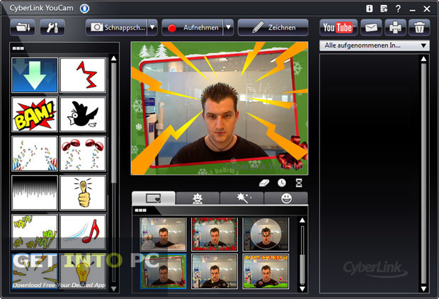 CyberLink YouCam Deluxe 7.0.1511.0 Multilingual Direct Link Download