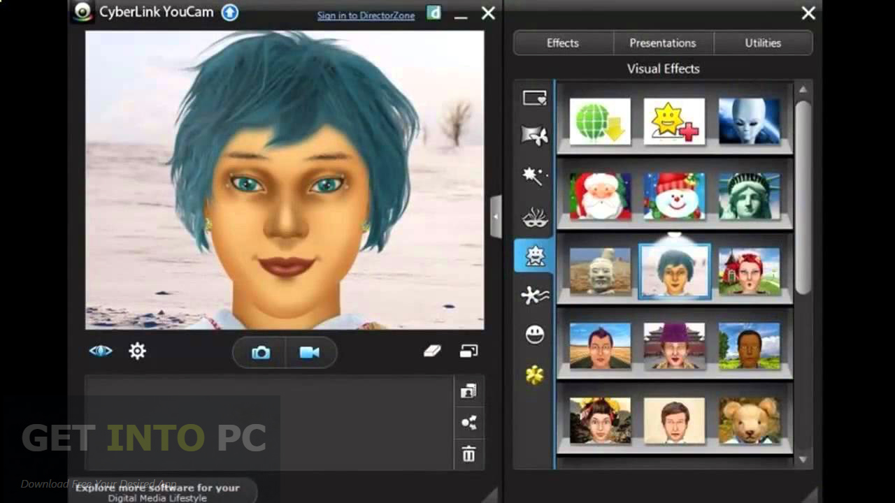 cyberlink youcam software for windows 7 free download