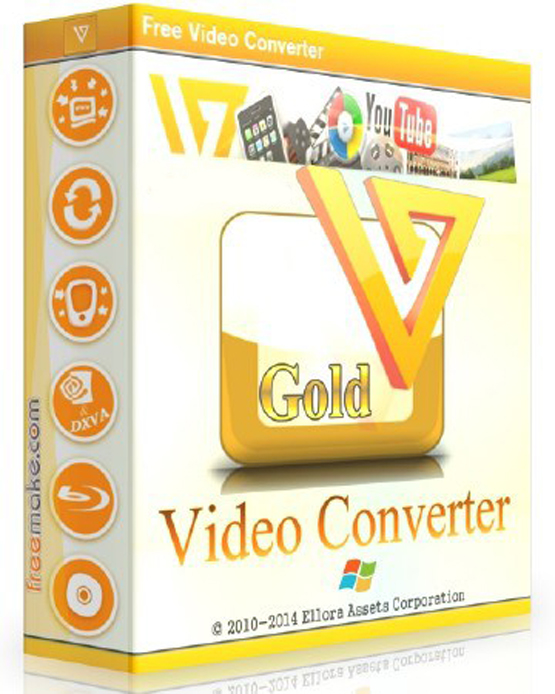 Freemake Video Converter Gold 4.1.9.39 Free Download
