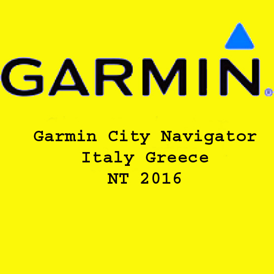 Garmin City Navigator Italy Greece NT 2016 Free Download
