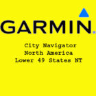 Garmin City Navigator North America Lower 49 States NT 2016 Free Download
