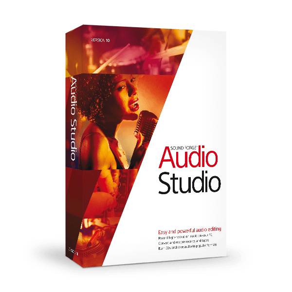 MAGIX Sound Forge Audio Studio 10 Free Download